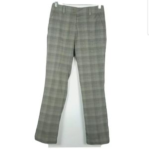 Nike Golf Womens Size 4 Pants Straight Fit Plaids